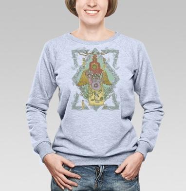 Тотемный камень - Купить детские свитшоты этно в Москве, цена детских свитшотов этно  с прикольными принтами - магазин дизайнерской одежды MaryJane