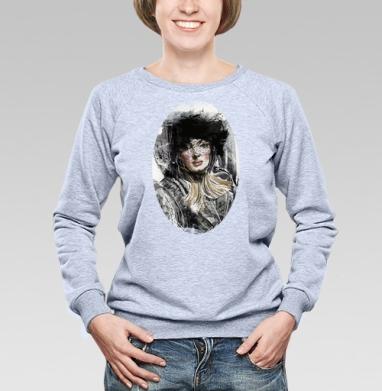 Девушка ретро - Купить детские свитшоты модные в Москве, цена детских свитшотов модных  с прикольными принтами - магазин дизайнерской одежды MaryJane