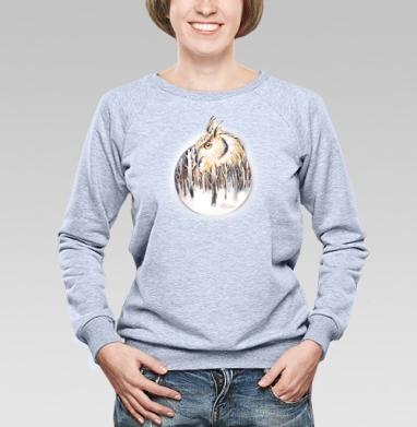 Мистический лес - Купить детские свитшоты с птицами в Москве, цена детских свитшотов с птицами  с прикольными принтами - магазин дизайнерской одежды MaryJane