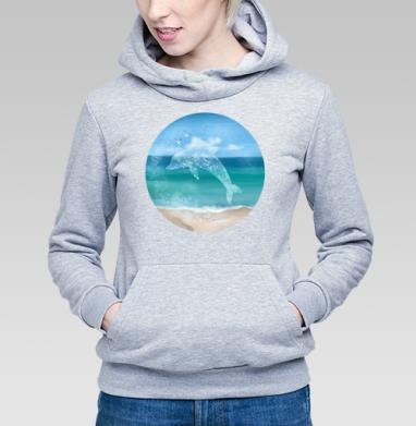 Морской князь - Купить детские толстовки морские  в Москве, цена детских  морских   с прикольными принтами - магазин дизайнерской одежды MaryJane