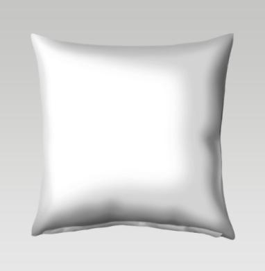 Зимние зайцы - Подушки с принтом