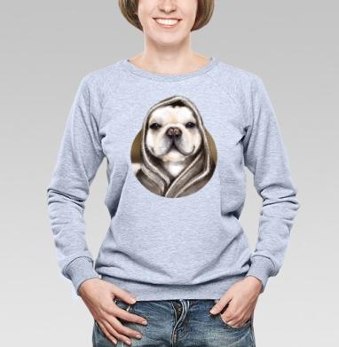 Бульдог по-французски - Купить детские свитшоты с собаками в Москве, цена детских свитшотов с собаками  с прикольными принтами - магазин дизайнерской одежды MaryJane