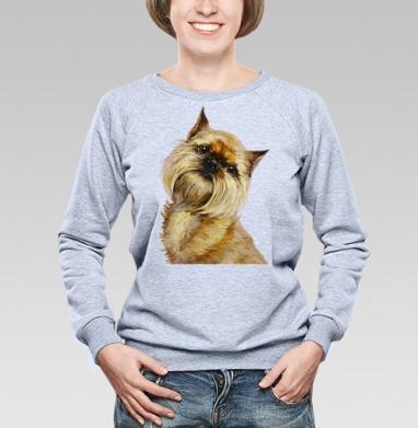 Брюссельский гриффон - Купить детские свитшоты с собаками в Москве, цена детских свитшотов с собаками  с прикольными принтами - магазин дизайнерской одежды MaryJane