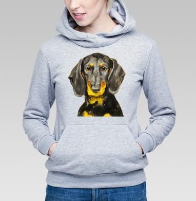 Собака Такса - Купить детские толстовки с собаками в Москве, цена детских толстовок с собаками  с прикольными принтами - магазин дизайнерской одежды MaryJane