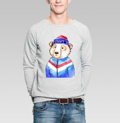 Мишаня - Купить мужские свитшоты нежность в Москве, цена мужских  нежность  с прикольными принтами - магазин дизайнерской одежды MaryJane