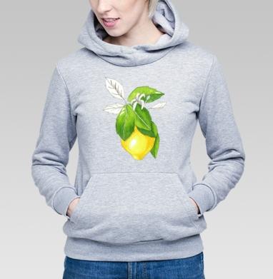Сочный лимон - Купить детские толстовки с фруктами в Москве, цена детских толстовок с фруктами  с прикольными принтами - магазин дизайнерской одежды MaryJane