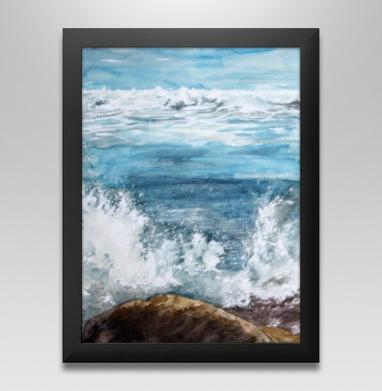 Танец пены морской - Постер в чёрной раме