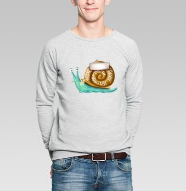 Люблю тебя больше, чем зубов у улитки - Купить мужские свитшоты с насекомыми в Москве, цена мужских свитшотов с насекомыми  с прикольными принтами - магазин дизайнерской одежды MaryJane