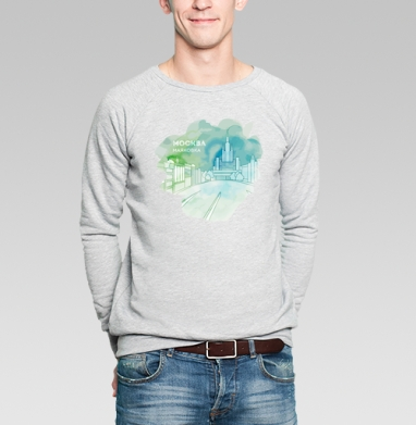 Москва, Маяковка - Купить мужские свитшоты с городами в Москве, цена мужских свитшотов с городами  с прикольными принтами - магазин дизайнерской одежды MaryJane
