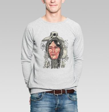 Лоухи хозяйка севера - Купить мужские свитшоты этно в Москве, цена мужских  этно  с прикольными принтами - магазин дизайнерской одежды MaryJane