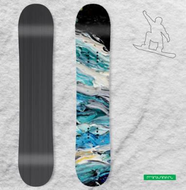 Акхор - Наклейки на доски - сноуборд, скейтборд, лыжи, кайтсерфинг, вэйк, серф