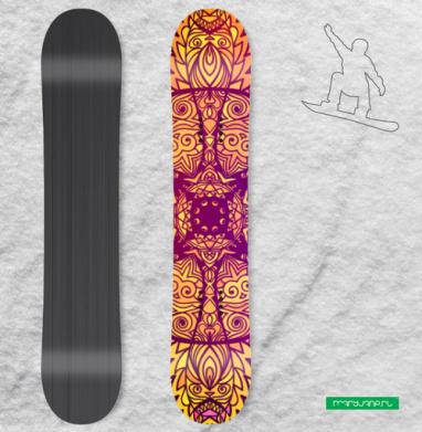 Царская роскошь - Наклейки на доски - сноуборд, скейтборд, лыжи, кайтсерфинг, вэйк, серф