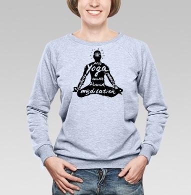 Падмасана - Купить детские свитшоты красивые в Москве, цена детских свитшотов красивых  с прикольными принтами - магазин дизайнерской одежды MaryJane