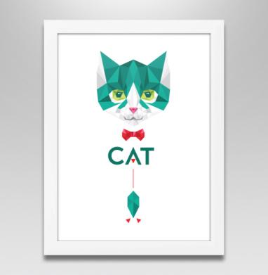 Кот Касперского, Постер в белой раме