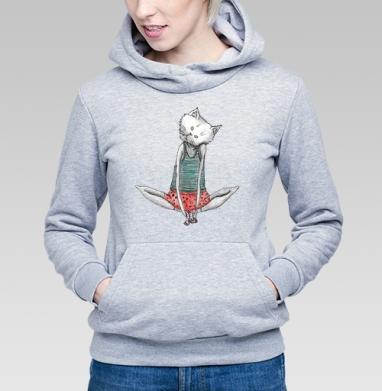 Домашний Котик - Купить детские толстовки с кошками в Москве, цена детских толстовок с кошками  с прикольными принтами - магазин дизайнерской одежды MaryJane