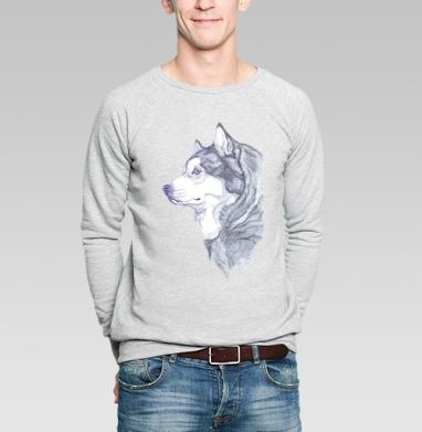 Аляскинский маламут - Толстовки без капюшона с принтами