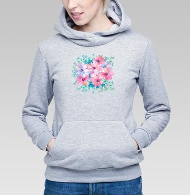 Цветы весны - Купить детские толстовки красивые в Москве, цена детских толстовок красивых  с прикольными принтами - магазин дизайнерской одежды MaryJane