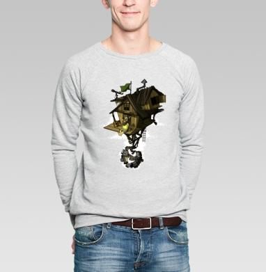 Уединение - Купить мужские свитшоты с городами в Москве, цена мужских свитшотов с городами  с прикольными принтами - магазин дизайнерской одежды MaryJane
