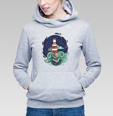 Маяк и большая медведица - Купить детские толстовки с космосом в Москве, цена детских толстовок с космосом  с прикольными принтами - магазин дизайнерской одежды MaryJane