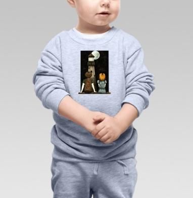 На луну - Детские футболки