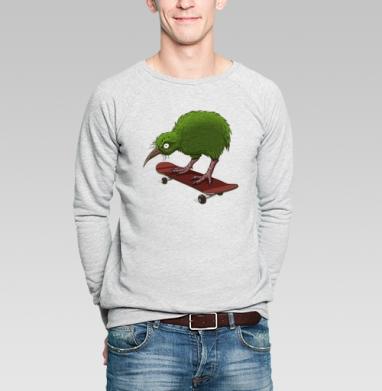 Киви - Купить мужские свитшоты с птицами в Москве, цена мужских свитшотов с птицами  с прикольными принтами - магазин дизайнерской одежды MaryJane