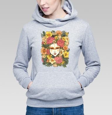 Цветочная маска - Купить детские толстовки Текстуры в Москве, цена детских  Текстуры с прикольными принтами - магазин дизайнерской одежды MaryJane
