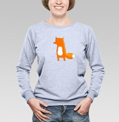 Fox - Купить детские свитшоты милые в Москве, цена детских свитшотов милых  с прикольными принтами - магазин дизайнерской одежды MaryJane