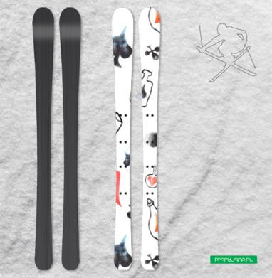 Алиса - Наклейки на лыжи