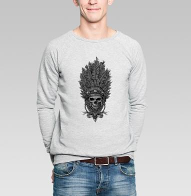 Вождь и перья - Купить мужские свитшоты с индейцами в Москве, цена мужских  с индейцами  с прикольными принтами - магазин дизайнерской одежды MaryJane