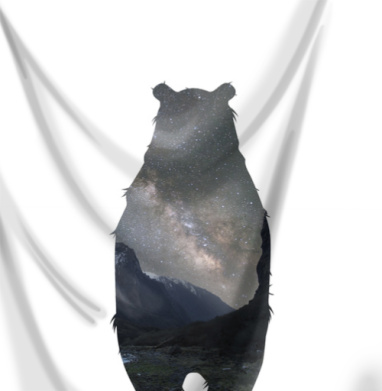 Космический медведь - пейзаж, Популярные