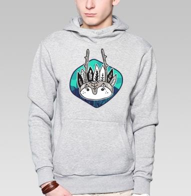 Полевой дух - Купить мужские толстовки Ниндзя в Москве, цена мужских  Ниндзя  с прикольными принтами - магазин дизайнерской одежды MaryJane