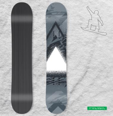 Треугольник света - Наклейки на доски - сноуборд, скейтборд, лыжи, кайтсерфинг, вэйк, серф