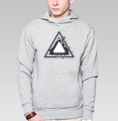 Треугольник света - Купить мужские толстовки Ниндзя в Москве, цена мужских  Ниндзя  с прикольными принтами - магазин дизайнерской одежды MaryJane