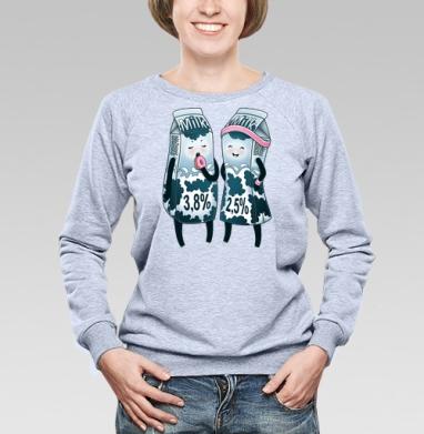 Жирное молоко - Купить детские свитшоты спортивные в Москве, цена детских свитшотов спортивных  с прикольными принтами - магазин дизайнерской одежды MaryJane