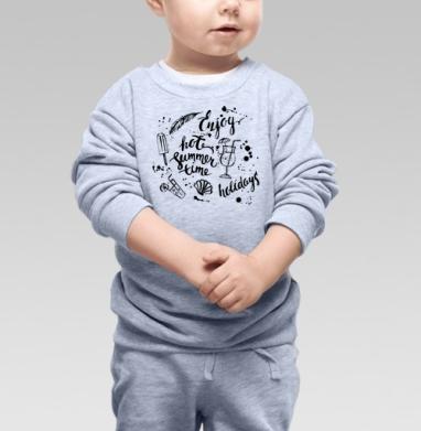 Саммер холидей - Детские футболки с надписями