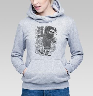 ЙЕТИ - Купить детские толстовки с усами в Москве, цена детских толстовок с усами с прикольными принтами - магазин дизайнерской одежды MaryJane