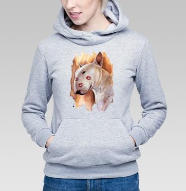 Бультерьер - Купить детские толстовки с собаками в Москве, цена детских толстовок с собаками  с прикольными принтами - магазин дизайнерской одежды MaryJane