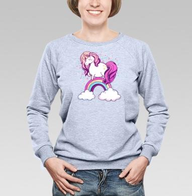 Единорог на радуге  - Купить детские свитшоты милые в Москве, цена детских свитшотов милых  с прикольными принтами - магазин дизайнерской одежды MaryJane