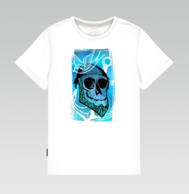Детская футболка белая - Море зовёт