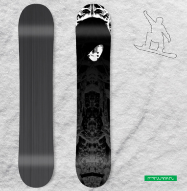 Лесной маг - Наклейки на доски - сноуборд, скейтборд, лыжи, кайтсерфинг, вэйк, серф
