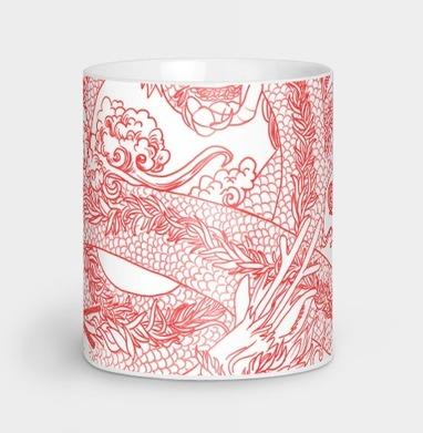 Голодный дракон - Кружки с логотипом
