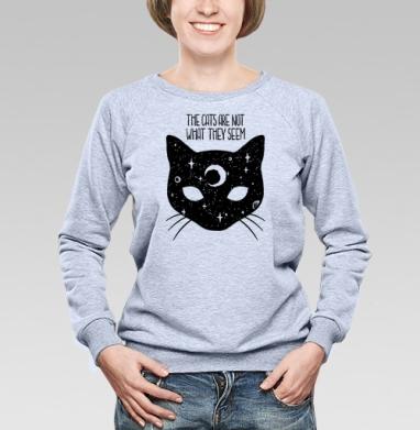 Коты не то, чем кажутся - Свитшоты женские. Новинки