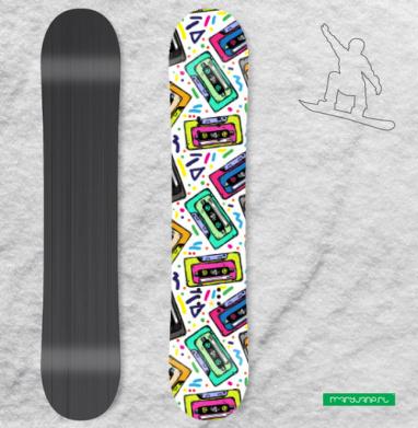 Дети девяностых - Наклейки на доски - сноуборд, скейтборд, лыжи, кайтсерфинг, вэйк, серф