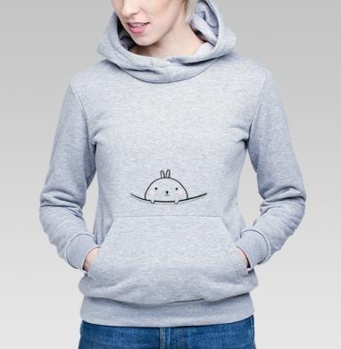 Карманный кролик - Купить детские толстовки милые в Москве, цена детских толстовок милых  с прикольными принтами - магазин дизайнерской одежды MaryJane