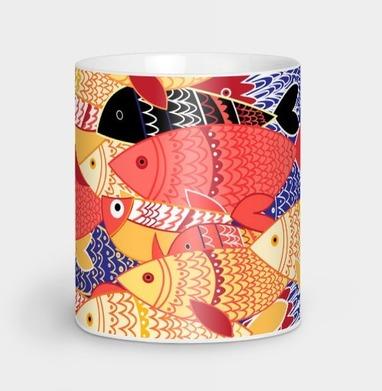 Стаи рыб - узор, Новинки