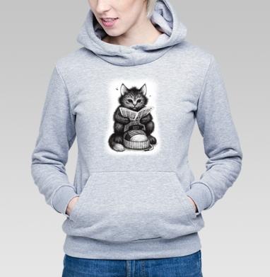 Кот в ботинке - Купить детские толстовки с кошками в Москве, цена детских толстовок с кошками  с прикольными принтами - магазин дизайнерской одежды MaryJane