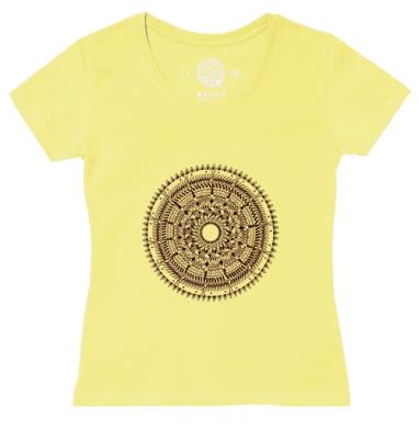 Футболка женская желтая - Свет маяка