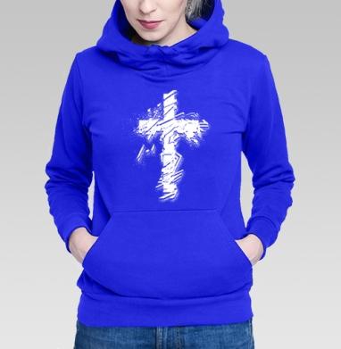 Крест во всю грудь - Толстовки женские в интернет-магазине
