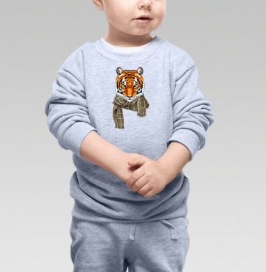 Тигр в городе - Свитшоты детские