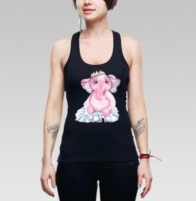 Pink elephant princess - Майки-борцовки женские. Новое.